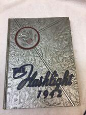 """School Yearbook 1942 ABILENE HIGH SCHOOL Flashlight"""" Abilene TEXAS"""