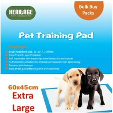 New Heavy Duty Large Puppy Training Pads Wee Wee Toilet Trainer Mats 60x45cm 200