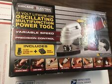Chicago Electric Power Tools 12V Lithium-Ion Oscillating Multifunction 68012