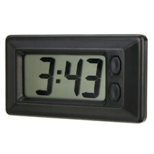 Car Dashboard Windshield Electronic LCD Digital Display Auto Clock Clendar Black