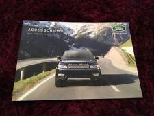 Land Rover Paper 2015 Car Sales Brochures