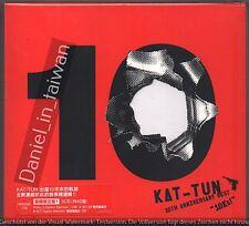 KAT-TUN: 10th anniversary Best 10Ks! (2016) Japan / 3CD & 36p+20p BOOKLET TAIWAN