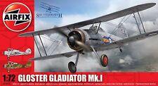 Airfix A02052 1/72 Plastic British Gloster Gladiator Mk I Airplane