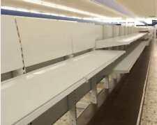 Ladeneinrichtung 100 cm Regale Verkaufsregale Metallregale Metallregal (VKR-100)