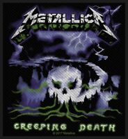 METALLICA PATCH / AUFNÄHER # 58 CREEPING DEATH - 10x9cm