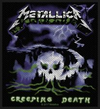 METALLICA PATCH / AUFNÄHER # 58 CREEPING DEATH - 10x9cm