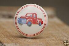 Car Truck Farm Pop Art Wardrobe Cabinet Cupboard Chest Drawer Door Knob Handle
