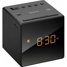 Sony icf-c1b VHF orologi Radio Radio Sveglia würfeluhr LED-Display snooze VHF