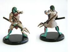 D&D Icons of the Realms - #038a Triton Fighter  - Monster Menagerie 3