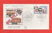 FDC - 1974 - 1874-1974 Centenaire de l'Union Postale Universelle  (829)