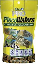 2-Pack,Tetra Pro Pleco Algae Wafers 2-in-1 Sinking Food for Algae Eaters 5.29oz!
