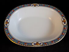Vintage FRAUREUTH Oval Serving Bowl Pattern 22547 discontinued german dinnerware