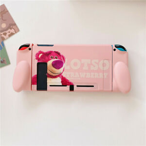Cute Pink Cartoon Lotso Bear Case Cover For Nintendo Switch Protective Shell Bag