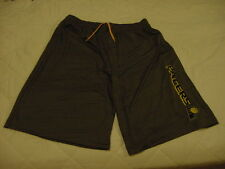 BEAUTIFUL Indiana Pacers Men's Lg Majestic TX3 Cool Base Grey Shorts, NEW&NICE!!