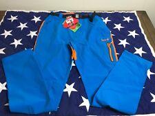 Izas Men's Point Stretch strecht Pants, Blue River/Orange, Medium