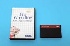 SEGA Master System Spiel - PRO WRESTLING - in Hülle OVP