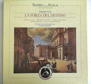 3 LP Giuseppe Verdi la Forza del Destino Emi Vinile Classico 1978 Italia