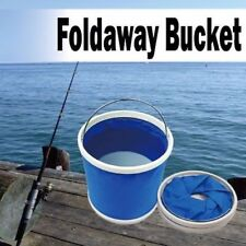 11L Foldaway Folding Bucket Camping Fishing Travel Cleaning Collapsible Carry