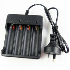 4 Slots 4.2V Universal Rechargeable 18650 Li-ion Battery Smart Charger AU PLUS