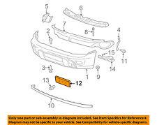 GM OEM Front Bumper-License Plate Bracket Mount 15032014