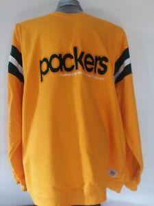 Green Bay Packers Reebok Gridiron Classic Sweatshirt NWT XXL