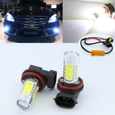 2x H11 LED Projector Fog Light No Error Fit Mercedes Benz W211 W212 W164 W221