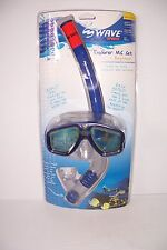 WAVE SPORTS EXPLORER MASK & SNORKEL SET POOL OCEAN LAKE SWIMMING DIVING NEW!
