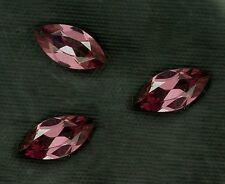 ONE 8x4 Marquise Rhodolite Garnet Gemstone Gem Stone 8mm x 4mm Natural