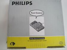 Philips 110 Foot Control and Pedal Transcription - New In Original Box