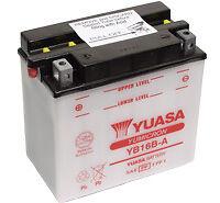 Yuasa Batterie YB16B-A Suzuki VS 600 Intruder 95-97 avec acide