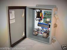 New 1084-12CHCS NEMA 12 PanelBrd Enclosure w/ CircuitBrd, 2 Relays, Transformer