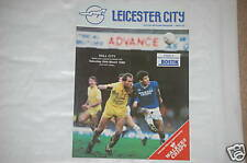 Leicester v Hull Programme 26th Mar 1988