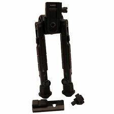 "New! Leapers Inc. UTG Heavy Duty Recon 360 Bipod Adjust from 6.7 to 9.1"" TL-BP01"