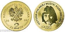 """Poland 2009 - 2 zlotych """"Czeslaw Niemen"""" UNC"""