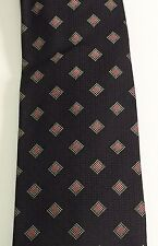 Hugo Boss Black Label Italy New White Red Dots Square Silk Mens Tie HB001 $95