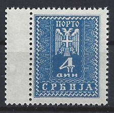 A201)) la Serbie Mi P 18 LK ** impeccable, Mi 100 €