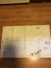 4 Large Working Plans for Decoys. Charles F Murphy. Dated 1978