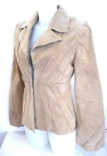 Veste cuir ♥ YES OR NO ♥ velours peau Taille M 38 40 femme