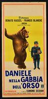 Plakat Daniele IN Käfig Der Bären Renato Rascel Blanche Sechan L154