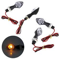 2 Pairs Motorcycle Mini Eye LED Indicator Turn Signal Indicators for