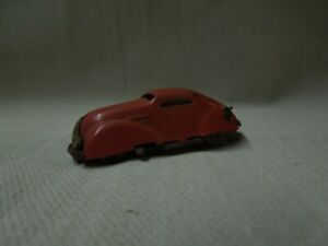 Vintage Triang Minic Clockwork car / Tin wind up car  - No key