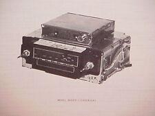 1979 DELCO GM ELECTRONICALLY TUNED CB /8-TRACK TAPE /AM-FM RADIO SERVICE MANUAL