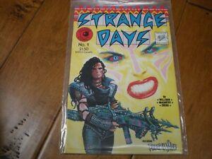 Strange Days #1 (1984) Eclipse Comic VF/NM