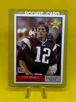 TOM BRADY 2000 NFL STAR Rookie Card RC Patriots Buccaneers Superbowl Champs