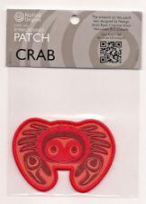 Crab Native Art Souvenir Patch