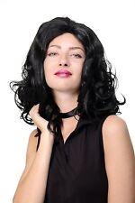 Perruque pour Femme Noir Crinière Volumineux Ondulé Perruque Long GFW1821B-1B