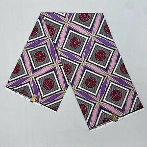 Multicolor African Fabric/Wax Holland Print/Ankara Fabrics/Cotton Fabric 6 Yards