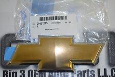 2006-2009 Chevrolet Trailblazer Uplander Gold Bow Tie GRILLE EMBLEM new OEM