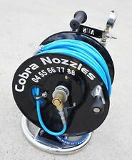 Complete Tubelar Jetter Mini Reel  with Hose - Water Jetting; Ready to Mount.