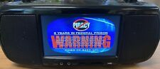 Coby TFDVD777 Portable Boombox  Digital DTV Tuner TV/DVD/AM/FM Stereo W/remote